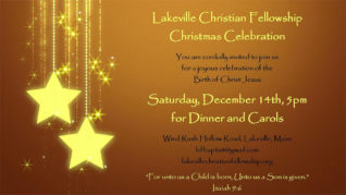 Christmas Party @ Lakeville Christian Fellowship | Lakeville | Massachusetts | United States